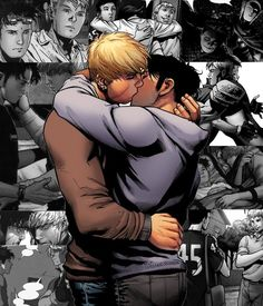 Hulkling {Teddy} x Wiccan {Billy} from Young Avengers.