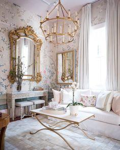 Rivers Spencer's home interior French Interior Design, Classic Interior, Elegant Home Decor, Elegant Homes, Dream Home Design, House Design, Design Design, Design Ideas, Parisian Decor