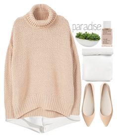 """feel good"" by emilypondng ❤ liked on Polyvore featuring Francesco Scognamiglio, MANGO, Witchery, Distinctive Designs, Korres and fallsweaters"