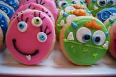 Cute monster cookies #monster #cookie