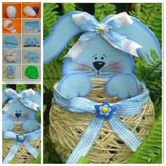 Easter Basket out of Yarn String F 1 Wonderful DIY Yarn String Easter Basket