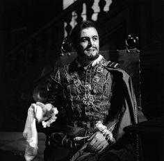 Luciano Pavarotti as the Duke of Mantua in Rigoletto, La Scala 1965