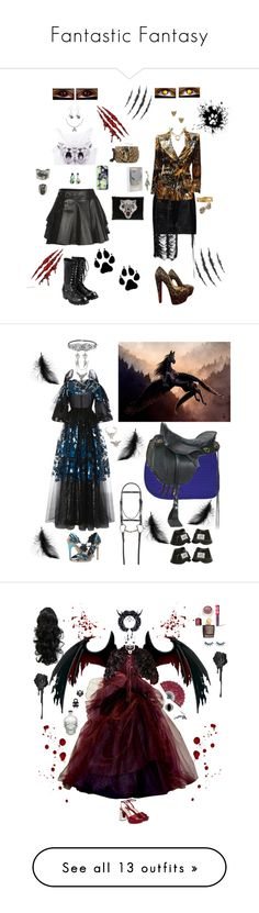 """""""Fantastic Fantasy"""" by karlielove2party ❤ liked on Polyvore featuring Mairi Mcdonald, Magda Butrym, Yves Saint Laurent, Christian Louboutin, Elizabeth Cole, Roberto Cavalli, Comme des Garçons, Casetify, STELLA McCARTNEY and C MPL T UNKN WN"""