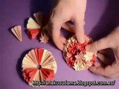 Kusudama Venus II (How to construct the kusudama)