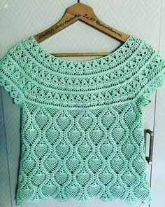 Blouse Mehr Spout In Croche - Artofit - Blouse - Diy Crafts - Qoster Cardigan Au Crochet, Crochet Yoke, Crochet Collar, Crochet Cardigan, Beau Crochet, Mode Crochet, Diy Crafts Knitting, Diy Crafts Crochet, Modern Crochet Patterns