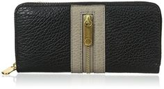 Marc by Marc Jacobs Roadster Slim Zip Around Wallet, Black Multi, One Size *** See this great product.