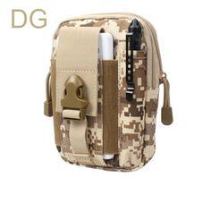 Universal Outdoor Sport Waist Belt Bag Wallet Case With Zipper
