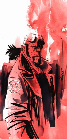 20 Years of Hellboy by Dustin Nguyen