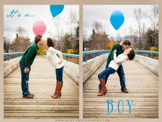 Balloon Gender Reveal - www.aliki-photography.com