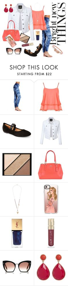"""""""Ice Cream Social"""" by eye-candy627 on Polyvore featuring WearAll, Ballerina, LE3NO, Elizabeth Arden, Betsey Johnson, Casetify, Yves Saint Laurent, Smith & Cult, Trina Turk and Bing Bang"""