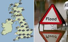 Met Office issues warning of severe weather for the south west and the Environment Agency issues more than 100 flood alerts and 10 more seri...