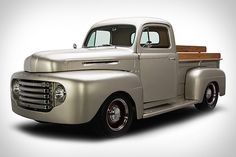 Ride In A Legend! A 1949 Ford F1 Pickup Truck