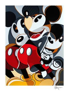 """Mousing Around #1"" by Tim Rogerson 