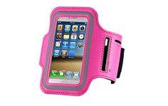 Waterproof Sports Running Arm Band Leather Brush Case For Apple iPhone 5 5S 5G Holder Hand