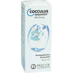 COCCULUS SIMILIAPLEX Tropfen:   Packungsinhalt: 50 ml Tropfen PZN: 01351799 Hersteller: PASCOE pharmazeutische Präparate GmbH Preis: 9,37…