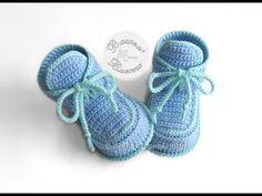 24 New Ideas For Crochet Baby Slippers Boy Shoe Pattern Booties Crochet, Crochet Baby Beanie, Crochet Baby Booties, Crochet Slippers, Baby Knitting, Baby Patterns, Knitting Patterns, Crochet Patterns, Baby Boy Shoes