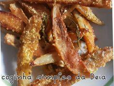 Receita Batatas crocantes assadas, de Cozinhasimplesdadeia - Petitchef