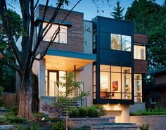 Christopher Simmonds Architect's Fraser Residence in Westboro Village in Ottawa.