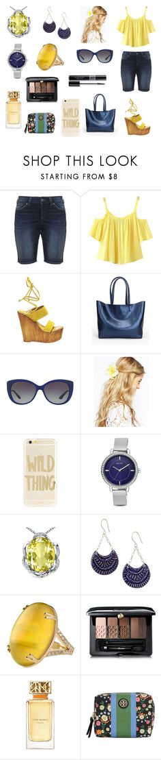 """""""Sem título #874"""" by amorasilvestre ❤ liked on Polyvore featuring Silver Jeans Co., Chicnova Fashion, Steve Madden, Bulgari, ASOS, Sonix, Nine West, Christian Dior, Guerlain and Tory Burch"""