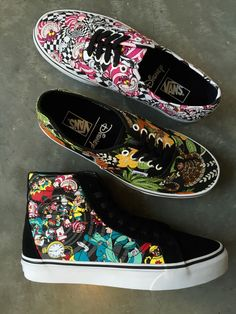 The newest arrivals from Disney x Vans, including the Jungle Book and Alice in Wonderland