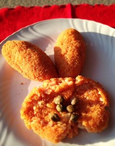 A piece of my childhood in a dish: Supplì di riso-my mum's way. To try!