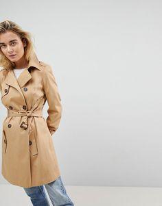 Trench-coat femme classique - Taupe