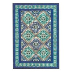 I pinned this Callo Rug in Aqua and Teal from the Feizy event at Joss and Main!