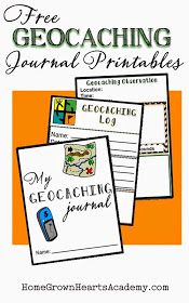 Home Grown Hearts Academy Homeschool Blog: Geocaching For Kids ~ A wonderful Homeschool Activity