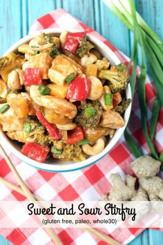 30-Minute Sweet and Sour Stir fry. #paleo