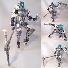"""206 Likes, 19 Comments - MrBoltTron (@toabythalis) on Instagram: """"⚡️Alarha, Toa of Magnetism⚡️ ~Bionicle (c) The Lego Group ~Hand design by syoya ~Torso built by…"""""""