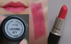 MAC Lustering (lustre), a gift from my ♥ sis, Angela ♥♥♥