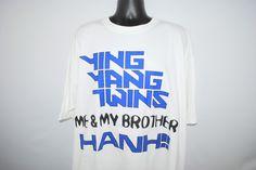2003 Ying Yang Twins Naggin' Rare Vintage Salt Shaker Era Me & My Brother Classic 00's Dirty South Hip Hop Crunk Album Promo T-Shirt