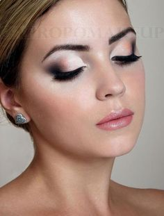 Occasion - Prom - The dramatic smokey look with the bright shades and big lashes…