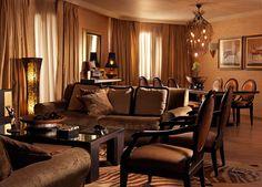 Living Room @ Presidential Suite No815 #DivaniCaravel
