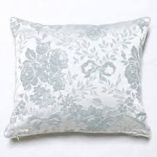 Image result for blue ribbon and roses pillow rachel ashwell
