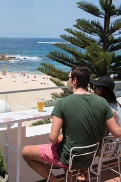 Beers with beach views at Coogee Pavilion rooftop Time Out, Pavilion, Rooftop, Tasty, Beach, The Beach, Gazebo, Beaches, Sheds