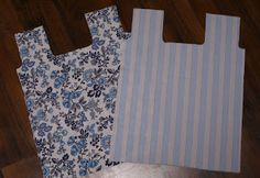 How to sew shopping bag (in Finnish, good pictures)