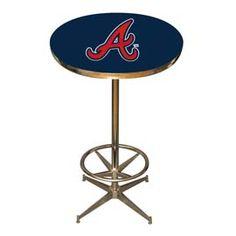 Atlanta Braves Pub Table