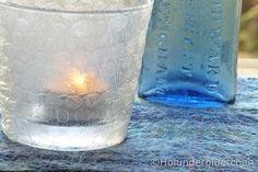 Elderflower: Upcycling Tuesday 5/2013 Elderflower, Bubble Wrap, String Lights, Light Up, Bubbles, Vase, Candles, Tuesday, Blog