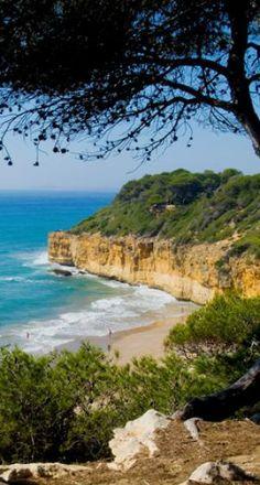 cala Fonda (també coneguda com a Waikiki) Costa Daurada Tarragona Catalonia © Alberich Fotògrafs / Tarragona turisme