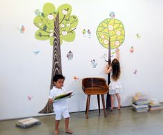 Nothing beats bringing the woods indoors! Two Tall Trees | Pop and Lolli #popandlolli #pinparty