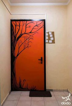 Vinil puerta