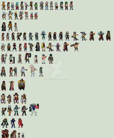 SpiritWave Characters by yurestu.deviantart.com on @DeviantArt