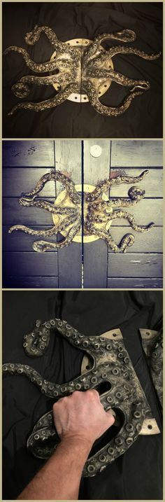 This awesome and huge pair of door handles are perfect for putting a steampunk touch to your interior.