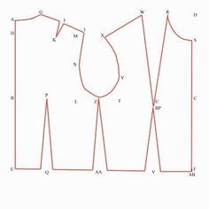Pattern drafting 101: drafting a basic bodice block