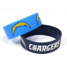 San Diego Chargers Rubber Wrist Bands