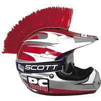 Cheap PC Racing Helmet Mohawk - Red PCHMRED sale