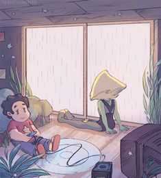 Peridot and Steven by transmissiondream