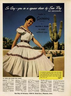 Sun Ray Ad Campaign Spring/Summer 1954