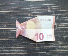 Fisch falten aus Geldschein - einfache Anleitung   Geschenke.de